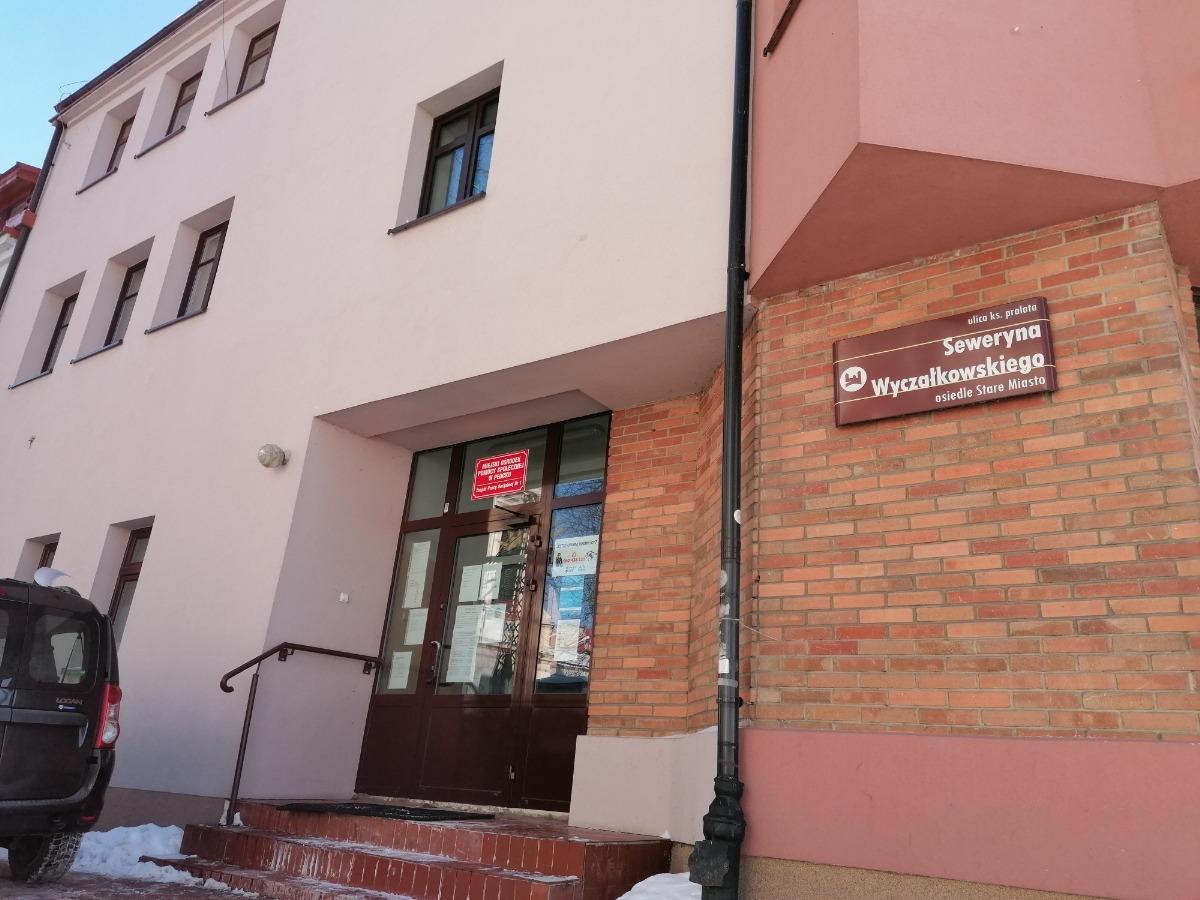MOPS budynek ul. Piekarska