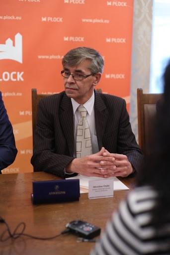 Dyrektor MOPS Pan Mirosław Chyba.